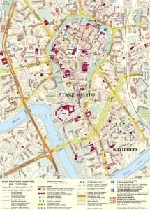 Krakow Map: from krakow.pl