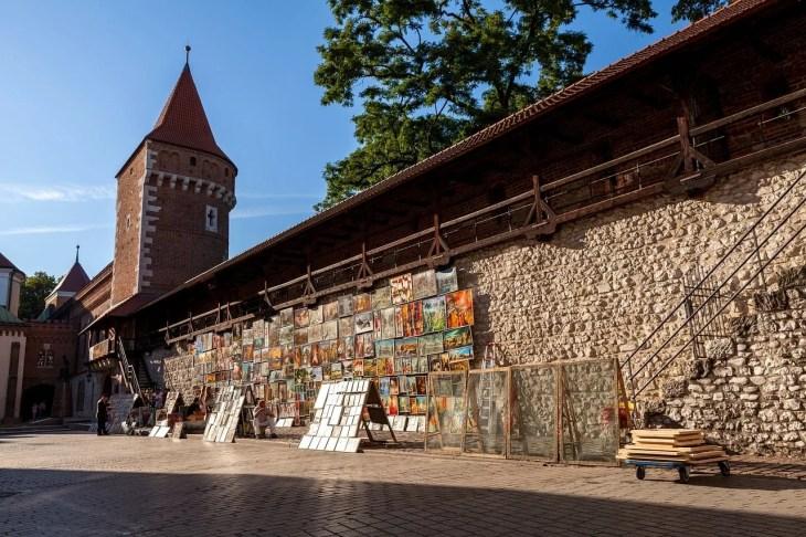 Egy része a régi városfalból