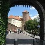 Wawel Castle: Entrance