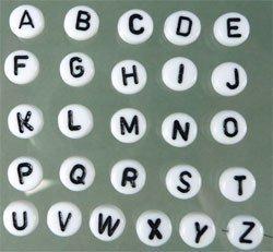 """letterkraal """"D"""""""