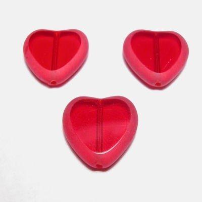 hartje rood 15 mm
