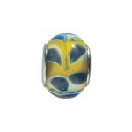 pandorastyleglas13mmblauw/beige