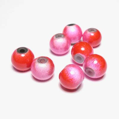 miracle bead rozerood 8 mm