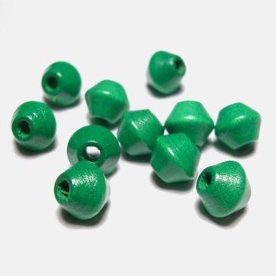 kraal konisch groen 6 mm