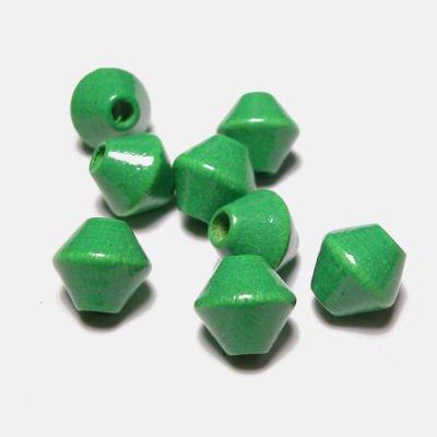 kraal konisch licht groen 8 mm