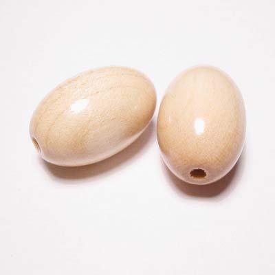 ovaal naturel 16x24 mm