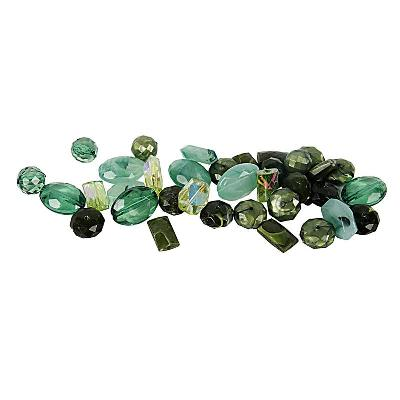 kunststof kralenmix harmony groen 10-17 mm