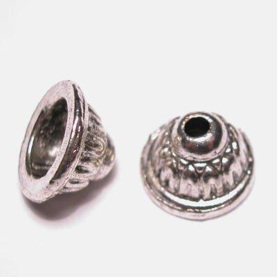 metalen kraal kapje 7x11 mm