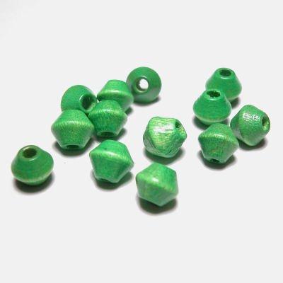 kraal konisch licht groen 6 mm