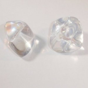 brok crystal AB 14x19 mm