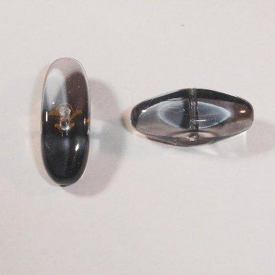 kraal ovaal grijs 9x19 mm