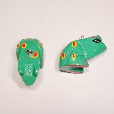 bedel kikker groen ca. 25x10 mm