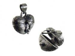 prayer box hart mat oud zilver 18x18x15 mm