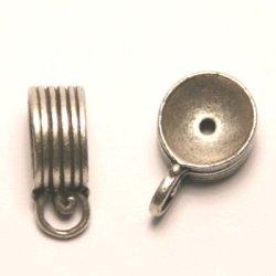 tussenzetsel voor kralen 12mm antiek zilver