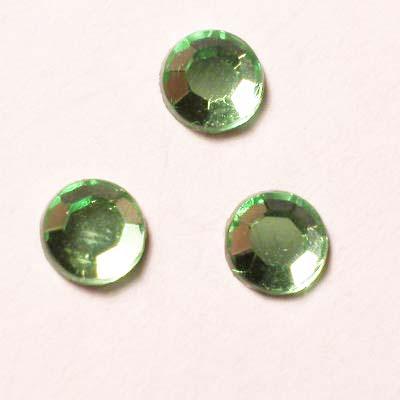strass plaksteen kristal peridot 4 mm