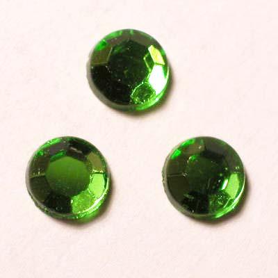 strass plaksteen kristal smaragd 5 mm