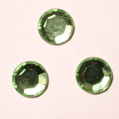 strass plaksteen kristal peridot 7 mm