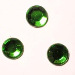 strass plaksteen kristal smaragd 7 mm