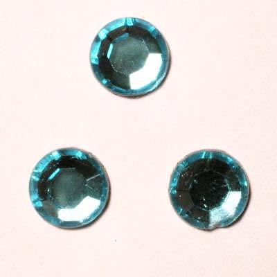 strass plaksteen kristal aqua 7 mm