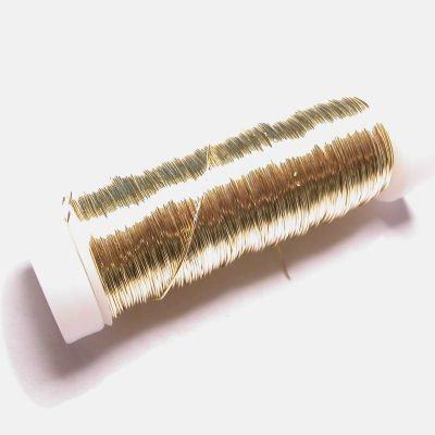 haakdraad goud 0,3 mm