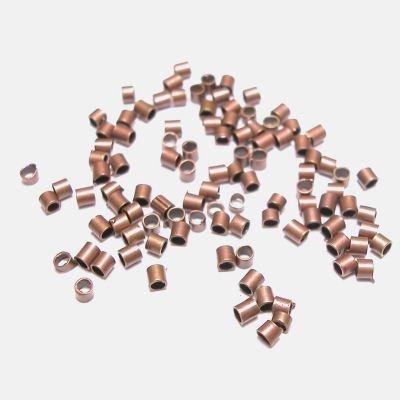 knijpkraal metaal brons 2 x 1,5 mm