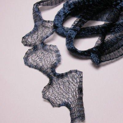 mesh wire 6mm blauw