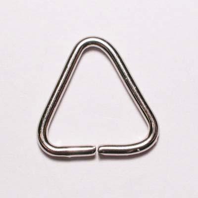 aanbuigtriangel zilver 14 mm