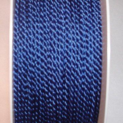 Deko-koord, 2 mm, d.blauw