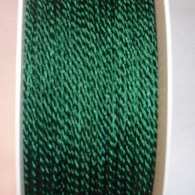 Deko-koord, 2 mm, d.groen