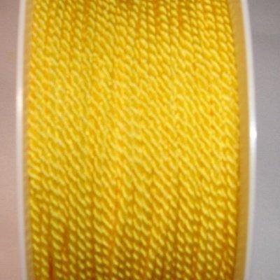 Deko-koord, 2 mm, geel