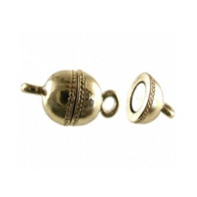 magneetsluiting glad goud12 mm