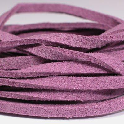 veter kunstsuede paars 3 mm