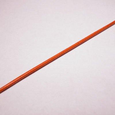 rond runderleer oranje 1,5 mm