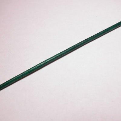 rond runderleer d.groen 2 mm