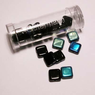 kwadraatparels 8 mm kleur 1000