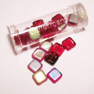 kwadraatparels 8 mm kleur 4295