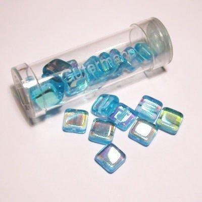 kwadraatparels 8 mm kleur 7080