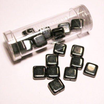 kwadraatparels 8 mm kleur 9902