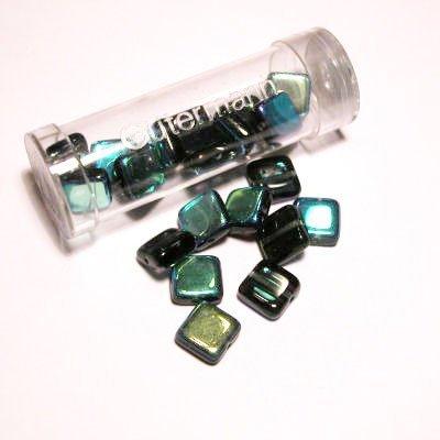 kwadraatparels 8 mm kleur 6975
