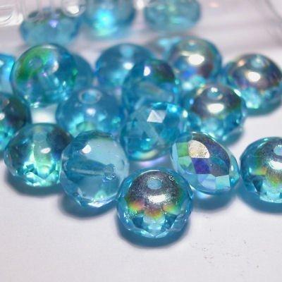 rond geslepenparels 8 mm kleur 7080