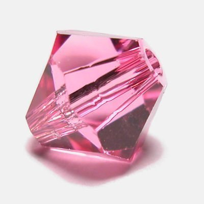 swarovski facet 4mm rose