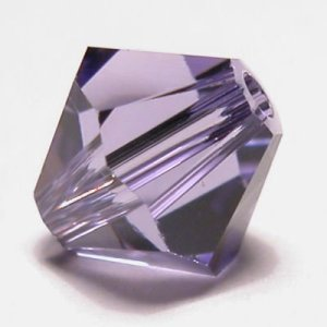 swarovski facet 6mm tanzanite