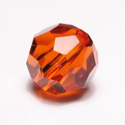 swarovski rond  4mm indian red