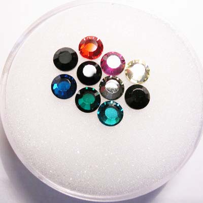 swarovski plaksteen rond mix 4 mm