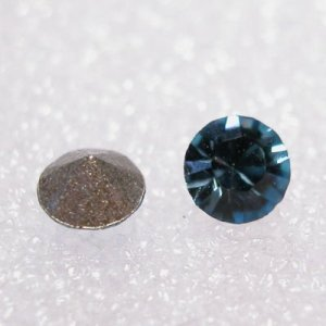 swarovski similisteen rond aquamarine 3 mm