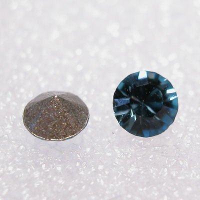 swarovski similisteen rond aquamarine 3 mm