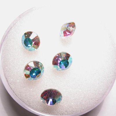 swarovski similisteen rond crystalAB 6 mm