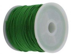 elastisch draad/stiek 1 mm groen