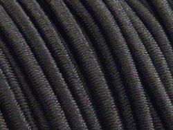 elastisch draad/stiek 3 mm zwart