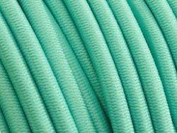 elastisch draad/stiek 3 mm aqua blauw